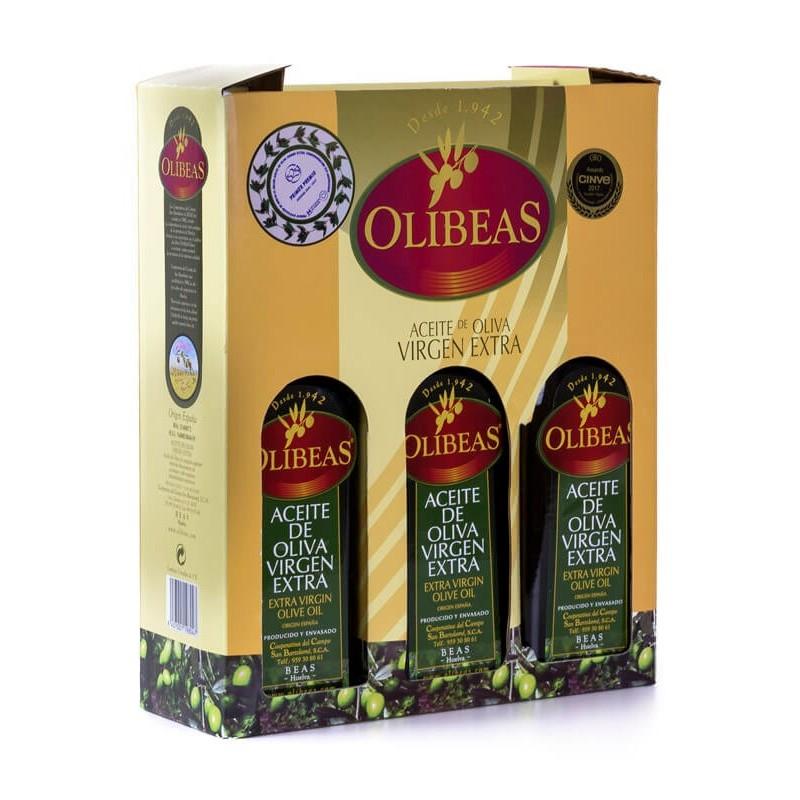Estuche 3 x 500 ml. Aceite de Oliva Virgen Extra