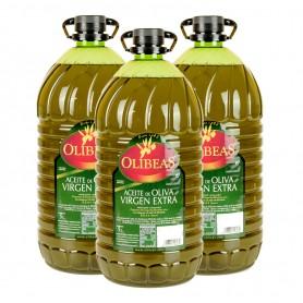 3 x Garrafa 5 litros Aceite de Oliva Virgen Extra
