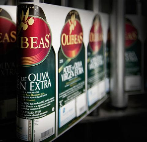 Envasado del Aceite de Oliva OLIBEAS