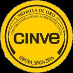 Medalla de ORO Concurso Internacional CINVE