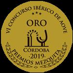 ORO para la Variedad Picual en el VI Concurso Ibérico MEZQUITA 2019