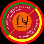 MEDALLA BRONCE en el VIII Concurso Ibérico de A.O.V.E. MEZQUITA (Córdoba 2021)